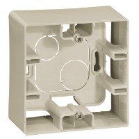Коробка накладного монтажа - 1 пост Etika слоновая кость Legrand купить по оптовой цене