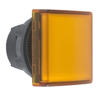 Головка для корпуса со встроен. светодиодом квадратная с плоскими линзами желт. SchE ZB5CV053 Schneider Electric сигнальной лампы 22мм цена, купить