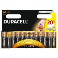 Элемент питания алкалиновый LR MN 1500/LR6 BASIC BP-12 (блист.12шт) Duracell C0037388 NEW купить в Москве по низкой цене
