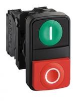 Кнопка двойная 22мм с маркировкой Schneider Electric XB5AL73415 купить в Москве по низкой цене