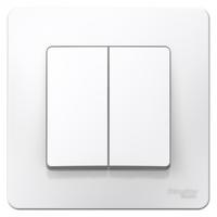Выключатель 2-кл. СП BLANCA (сх.5) 6А 250В бел. SchE BLNVS006501 Schneider Electric купить по оптовой цене