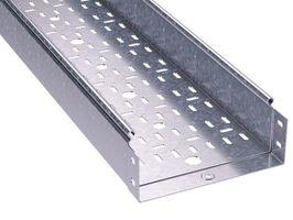 Лоток перфорированный 500х 80х3000х1,5мм, горячеоцинкованный   3530715HDZ DKC (ДКС) листовой L3000 сталь толщина купить в Москве по низкой цене
