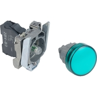 Лампа сигнальная 22мм 24в светодиодная зеленая Schneider Electric XB4BVB3 купить в Москве по низкой цене