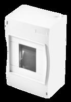 Бокс ОП 4м IP40 белый HEGEL КМ2040 купить по оптовой цене