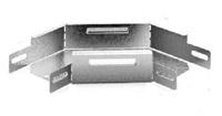 Соединитель угловой плоский к лотку 100х50 | УСП-100х50 OSTEC купить в Москве по низкой цене