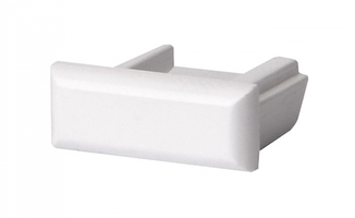 Заглушка торцевая для алюминиевого профиля PAL 1506 глухая   1009708 Jazzway купить в Москве по низкой цене