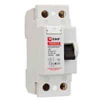 Выключатель дифференциального тока (УЗО) 2п 16А 30мА тип AC Basic (электромех.) EKF elcb-2-16-30-em-sim купить по оптовой цене