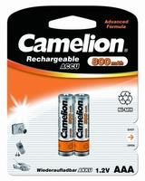 Аккумулятор R03 NI-MN 800мА.ч BP-2 (блист.2шт) Camelion 3674 купить в Москве по низкой цене