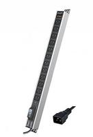 Блок распределения питания вертикальный для 19дюйм шкафов, 16A12 ХIEC60320 C19, автоматический выключатель 1Р, индикатор т R5V12CBOPCDC19 DKC, цена, купить