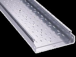 Лоток перфорированный 400х50 L3000 сталь 1.2мм ДКС 3526612 DKC (ДКС) листовой толщина мм 50х3000х1,2мм купить в Москве по низкой цене