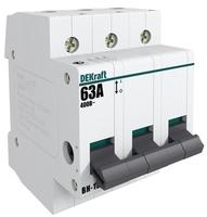 Выключатель нагрузки 3п 63А ВН-102 17011DEK DEKraft SE Schneider Electric купить по оптовой цене