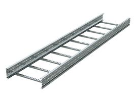 Лоток лестничный 500х200 L3000 сталь 1.5мм (лонжерон) цинк-ламель DKC ULM325ZL (ДКС) 200x500х3000 цена, купить