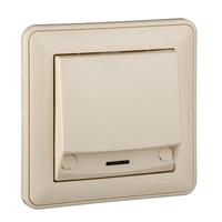Выключатель 1-кл. СП W59 карточный сл. кость SchE VS616-051-28 (ВС616-051-28) Schneider Electric купить по оптовой цене