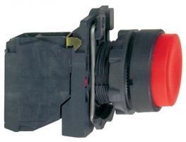 Кнопка красная 1нз с выступом XB5AL42 Schneider Electric 22ММ ВОЗВРАТОМ купить в Москве по низкой цене