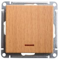 Механизм выключателя 1-кл. W59 с подсвет. самовозвр. 10АХ бук SchE VS110-151-8-86 Schneider Electric купить по оптовой цене