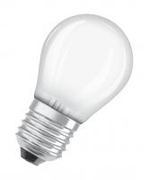 Светодиодная лампа LED STAR Classic P 5, матовая колба, Е27 LEDSCLP40 5W/827 230VFR E2710X1RU | 4052899971646 Osram LS теплый шар 2700К бел 470лм 220-240В пласт купить в Москве по низкой цене