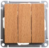 Механизм выключателя 3-кл. W59 10АХ бук SchE VS0510-351-8-86 Schneider Electric купить по оптовой цене