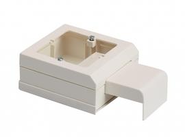 Коробка установочная 60мм для миниканалов Schneider Electric ETK20580 ПОД ЭУИ Суппорт с креп Ultra бел аналоги, замены