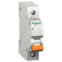Выключатель автоматический однополюсный 63А С ВА63 4.5кА 11209 Schneider Electric, цена, купить