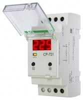 Реле напряжения CP-721 (50-450В 30А 2 модуля IP20 монтаж на DIN-рейке)(аналог УЗМ) F&F EA04.009.003 Евроавтоматика ФиФ контроля купить в Москве по низкой цене