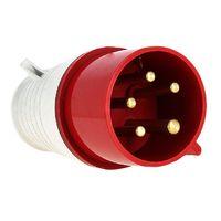 Вилка кабельная 32А 3Р+N+Е IP44 переносная 380В ps-025-32-380 EKF, цена, купить