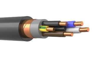 КВВГЭнг(А)-LS 5х1 цена, купить контрольный кабель КВВГЭнг-LS 5*1
