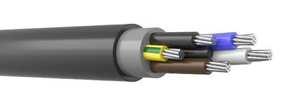 АВВГнг 5х50 цена, купить кабель АВВГНГ(А) 5*50